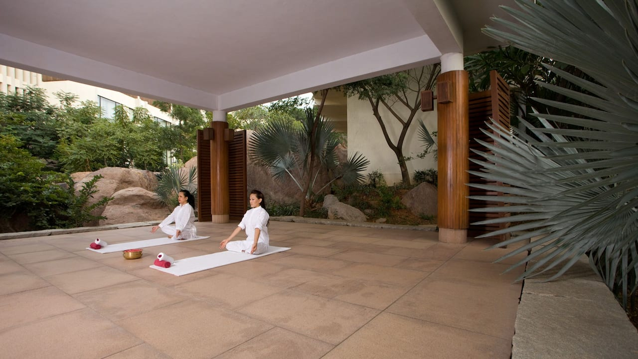 Hyatt  Yoga Pavilion