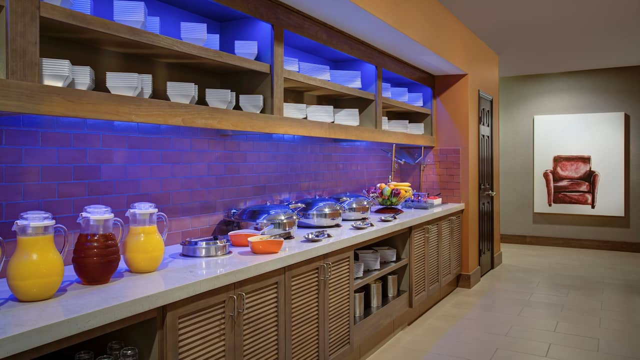 HYATT HOUSE DALLAS/UPTOWN Breakfast Buffet