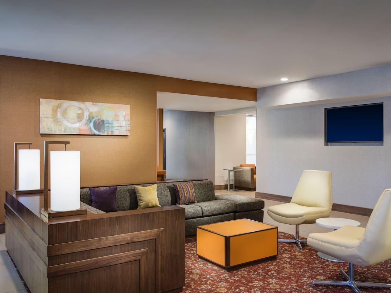 Hyatt House Cozy Corner Couch