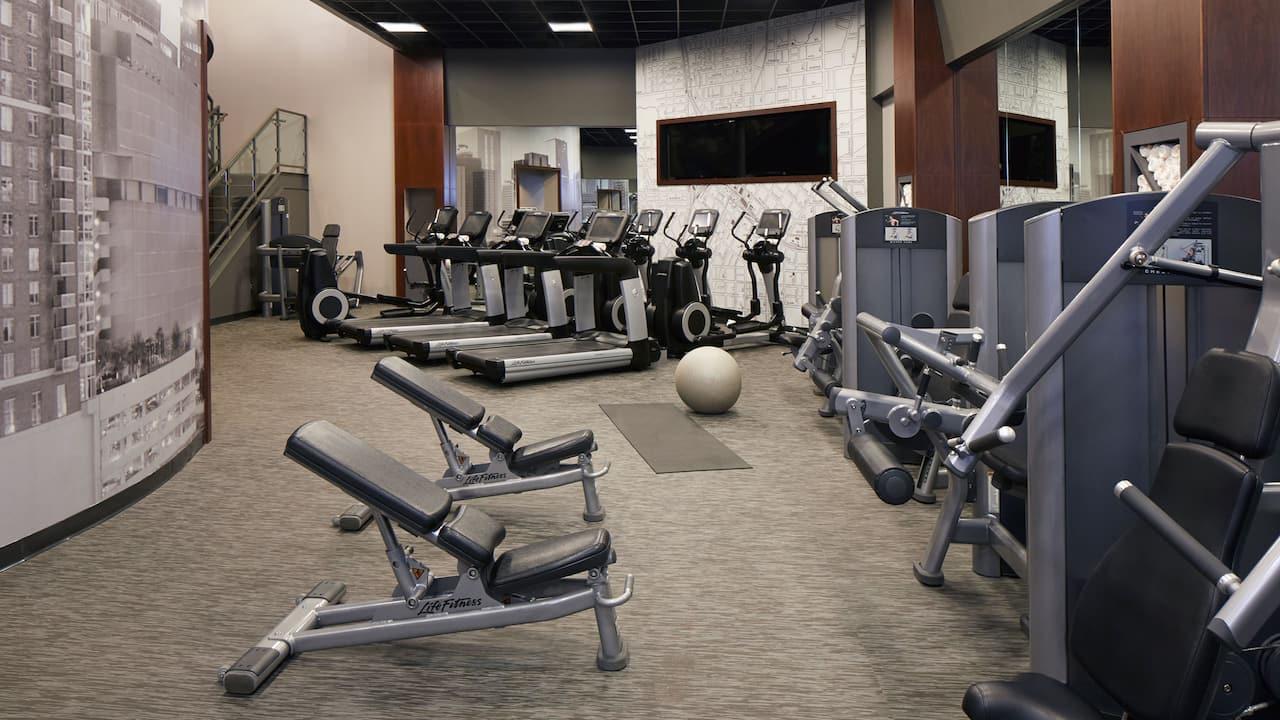 Fitness Center at the Hyatt Regency Atlanta