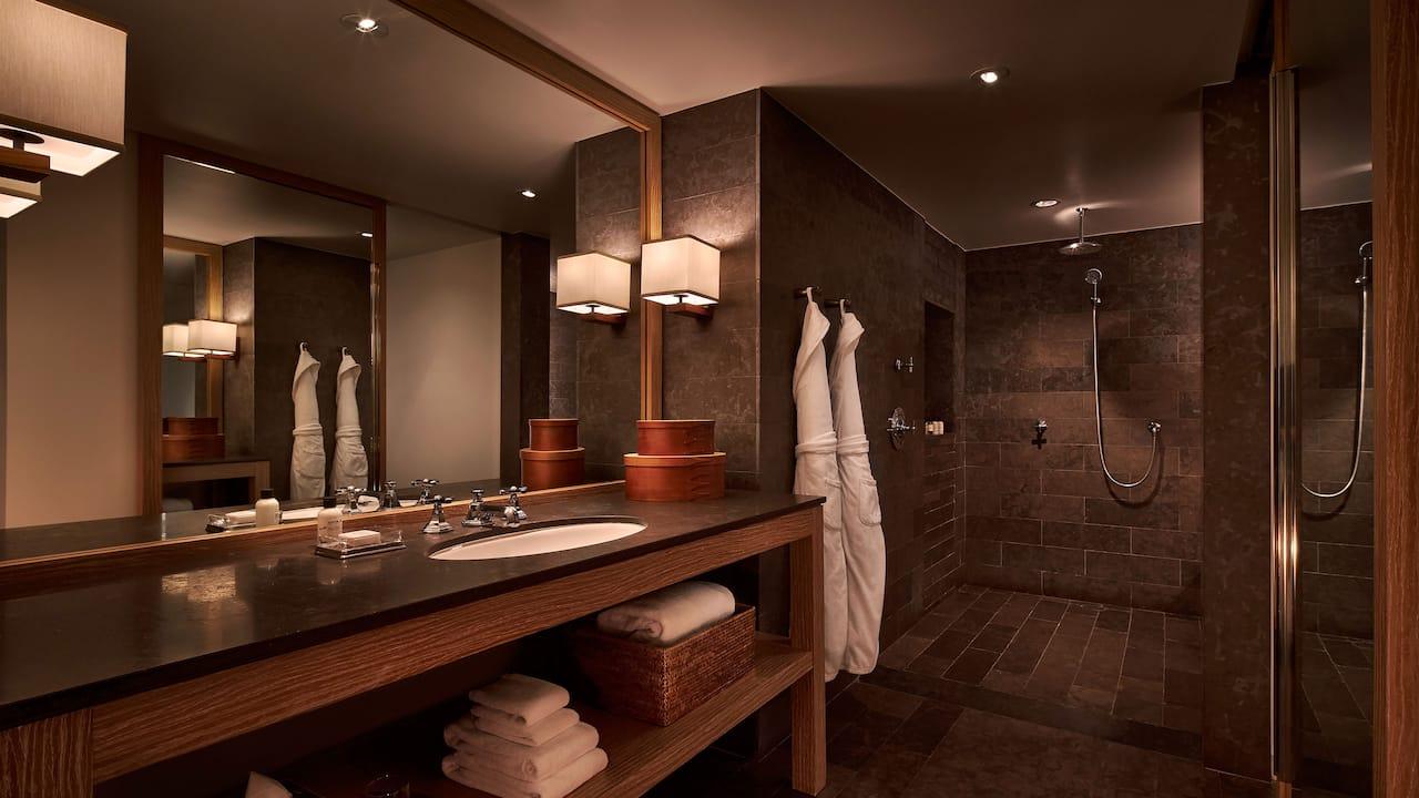 Park Junior Suite Bathroom