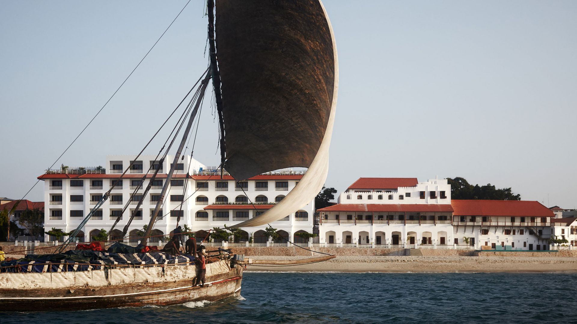 Exterior With Dhow