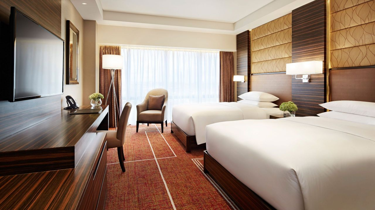 Hyatt City of Dreams Manila Double Beds