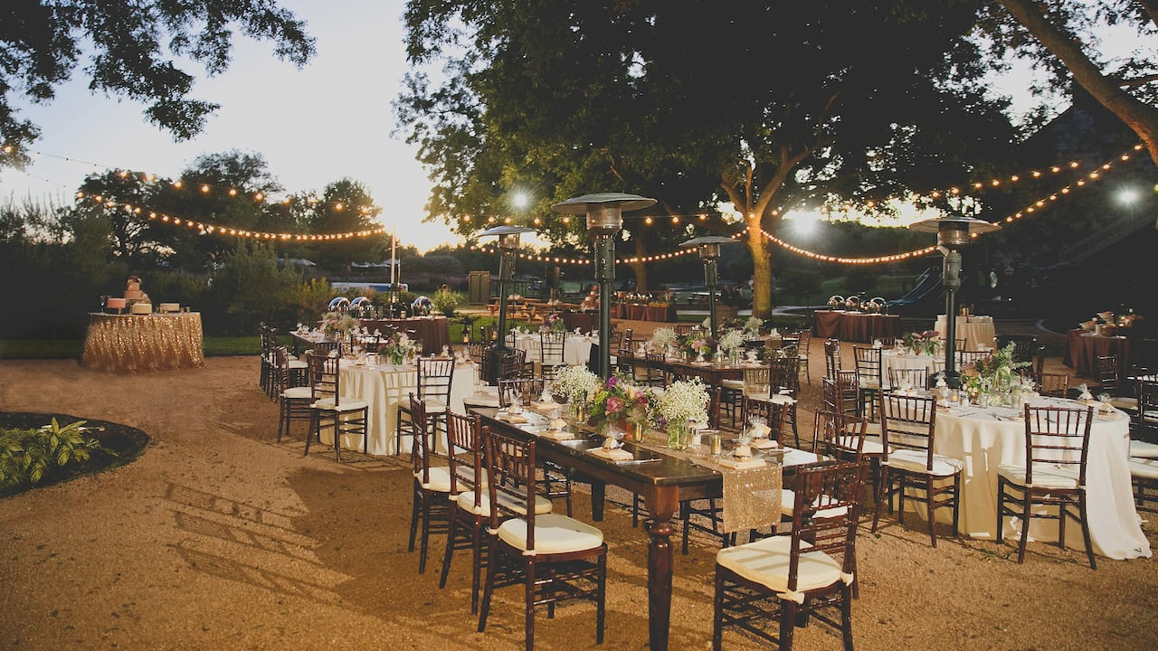 Wedding Hyatt Regency Lost Pines Resort & Spa