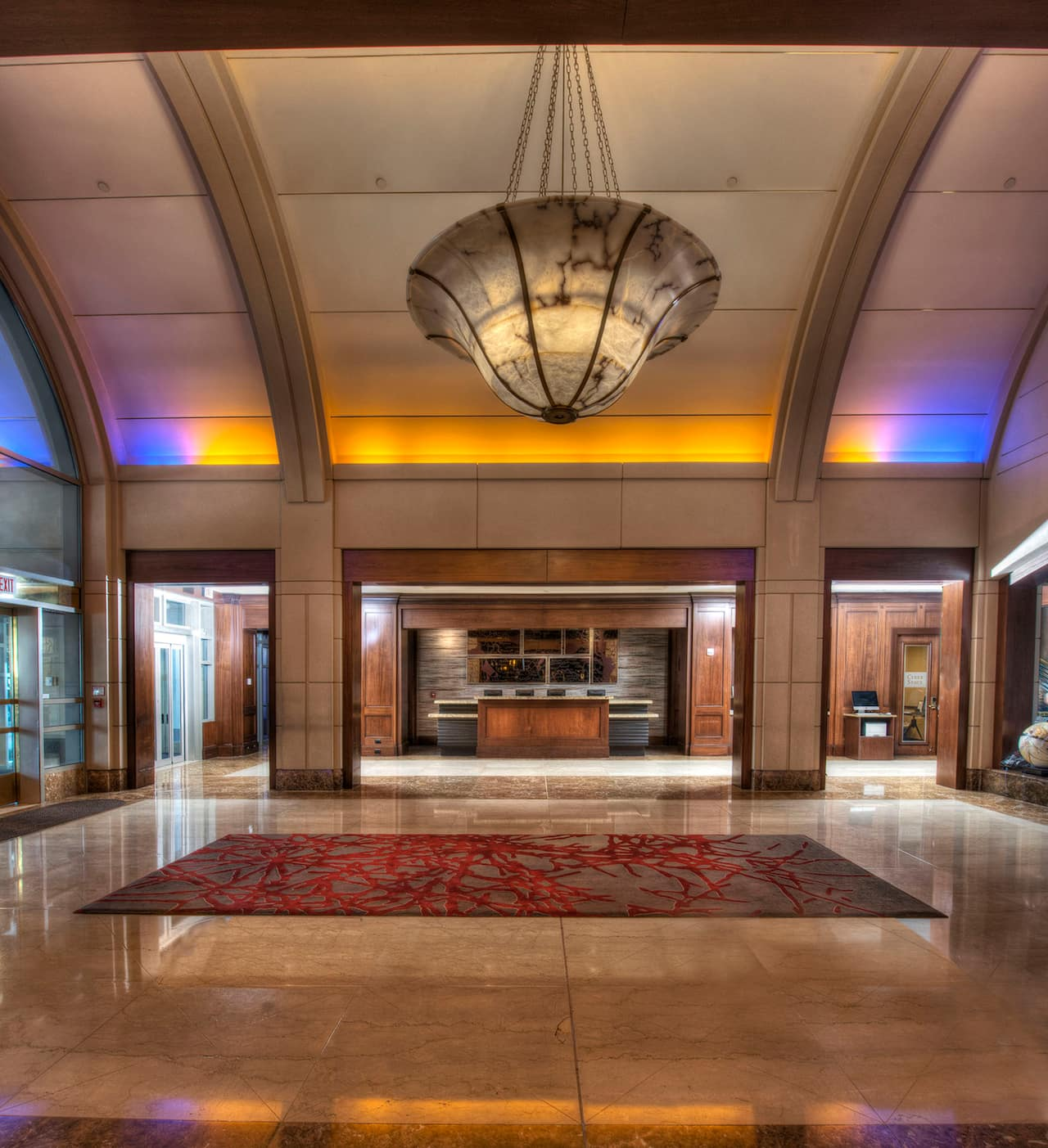 lobby Hyatt Regency Reston