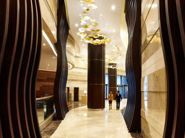 Hyatt City of Dreams Manlia Lobby