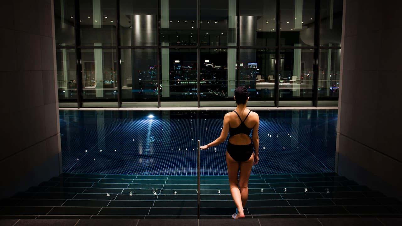 Andaz Tokyo Toranomon Hills, spa pool