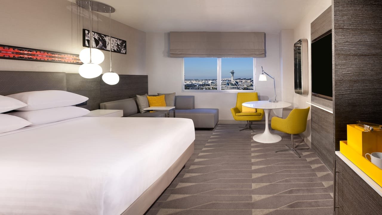 King Hotel Room Near LAX Hyatt Regency Los Angeles International Airport