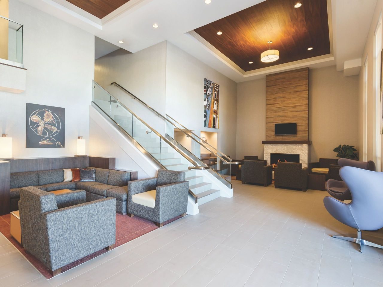 Hyatt House San Diego / Sorrento Mesa Lobby