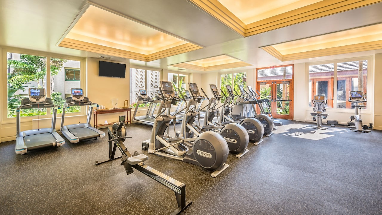 Grand Hyatt Kauai Beachfront Resort  Fitness Center