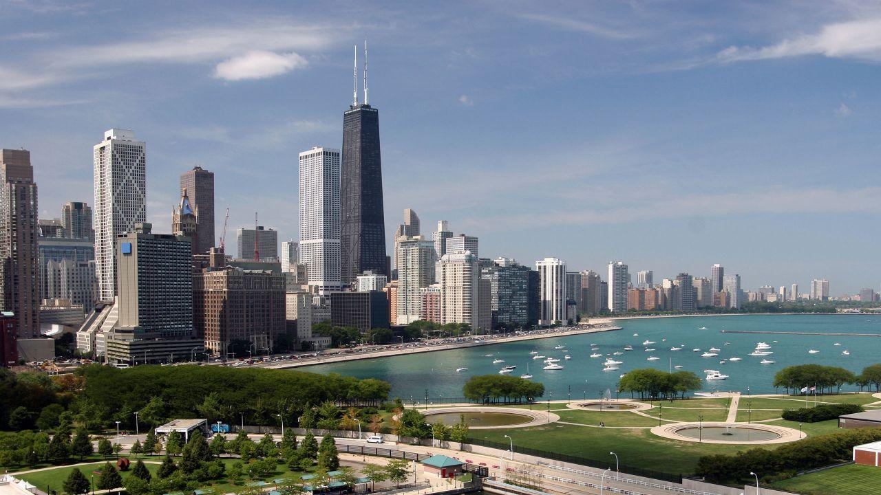 Chicago's downtown skyline