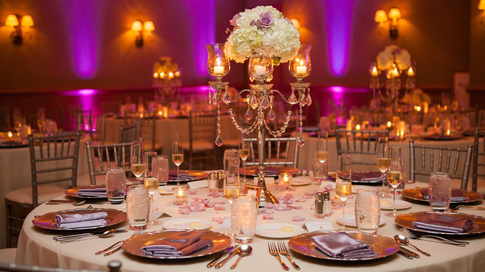 Clearwater beach wedding venue hosting reception