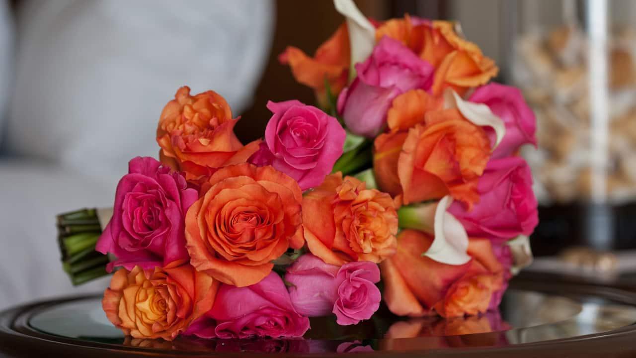 Wedding bouquet from Hyatt Regency Clearwater Beach Resort