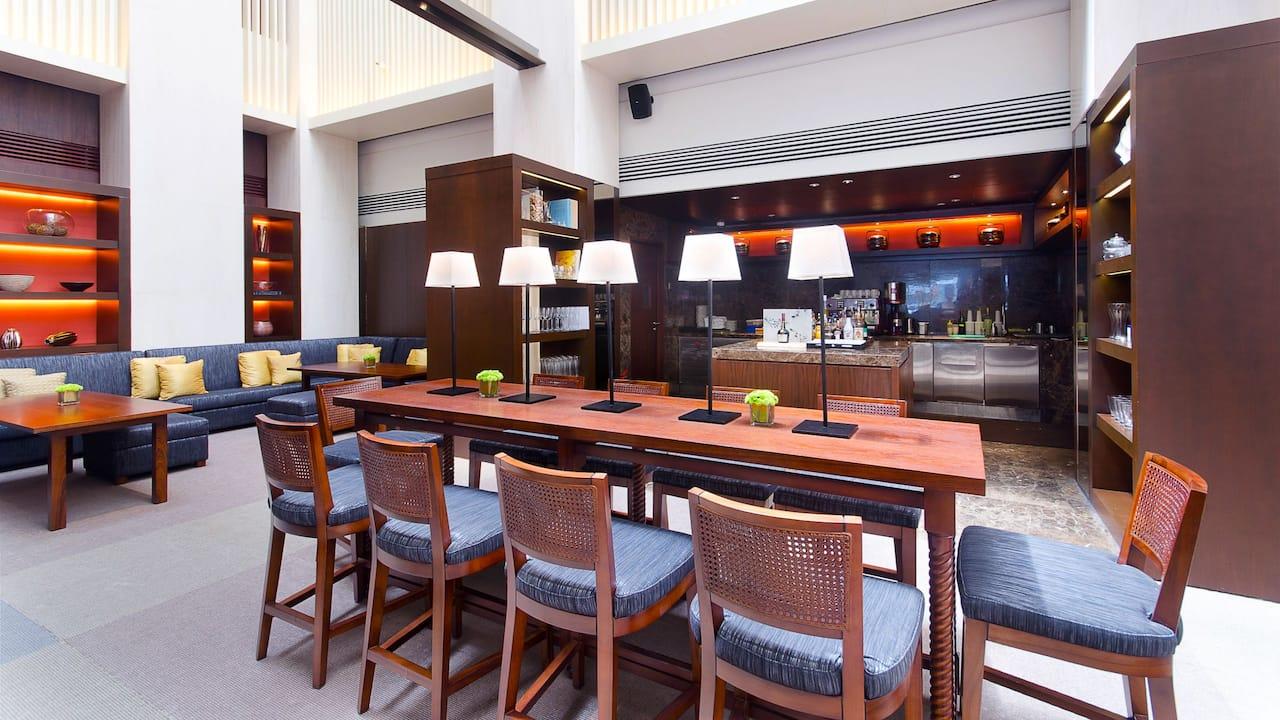 The Lounge at the Lobby Hotel Hyatt Regency Kinabalu, Sabah