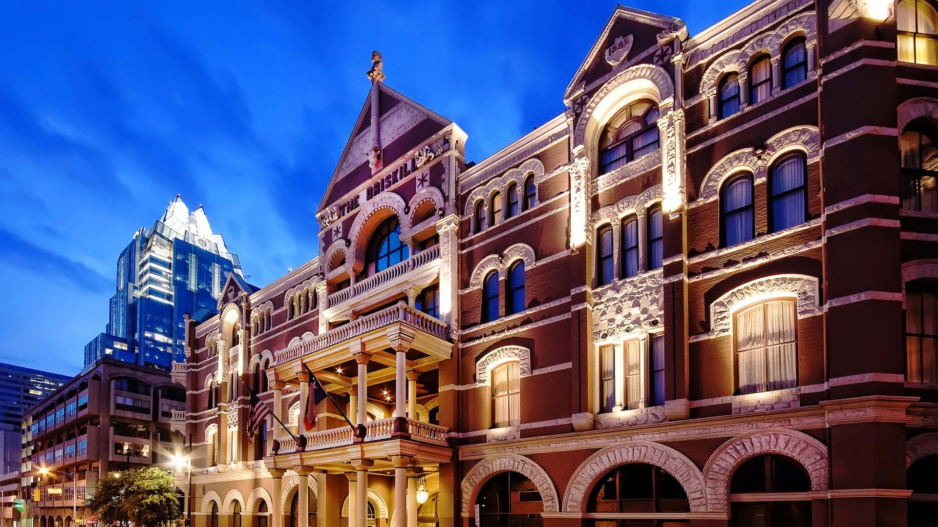 Austin's Iconic Hotel on 6th Street The Driskill