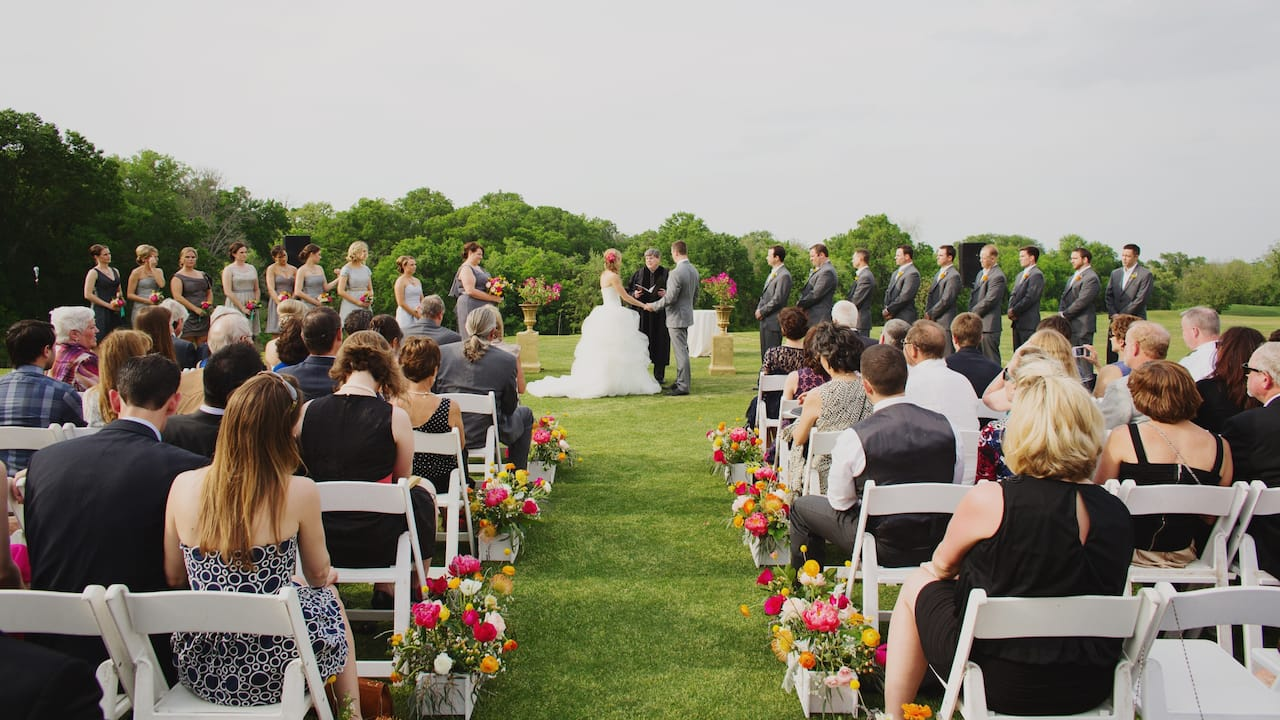Wedding Hyatt Regency Lost Pines Resort & Spa