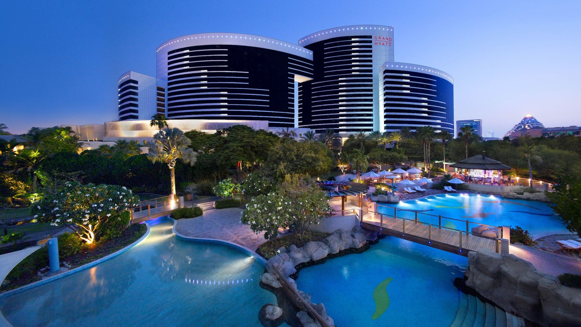 Grand Hyatt Dubai Luxury Resort Hotel