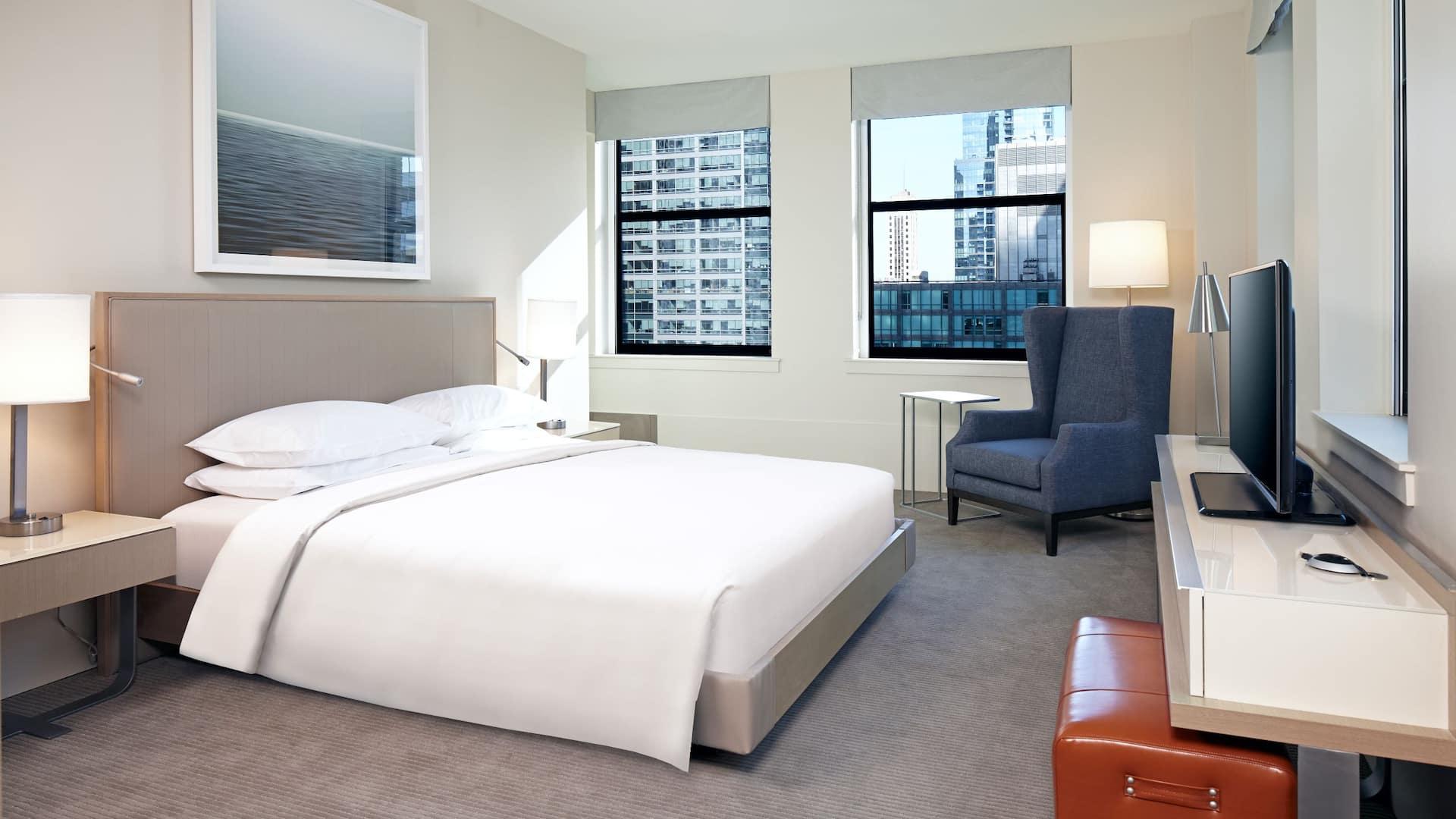 Hyatt Suite King Bedroom