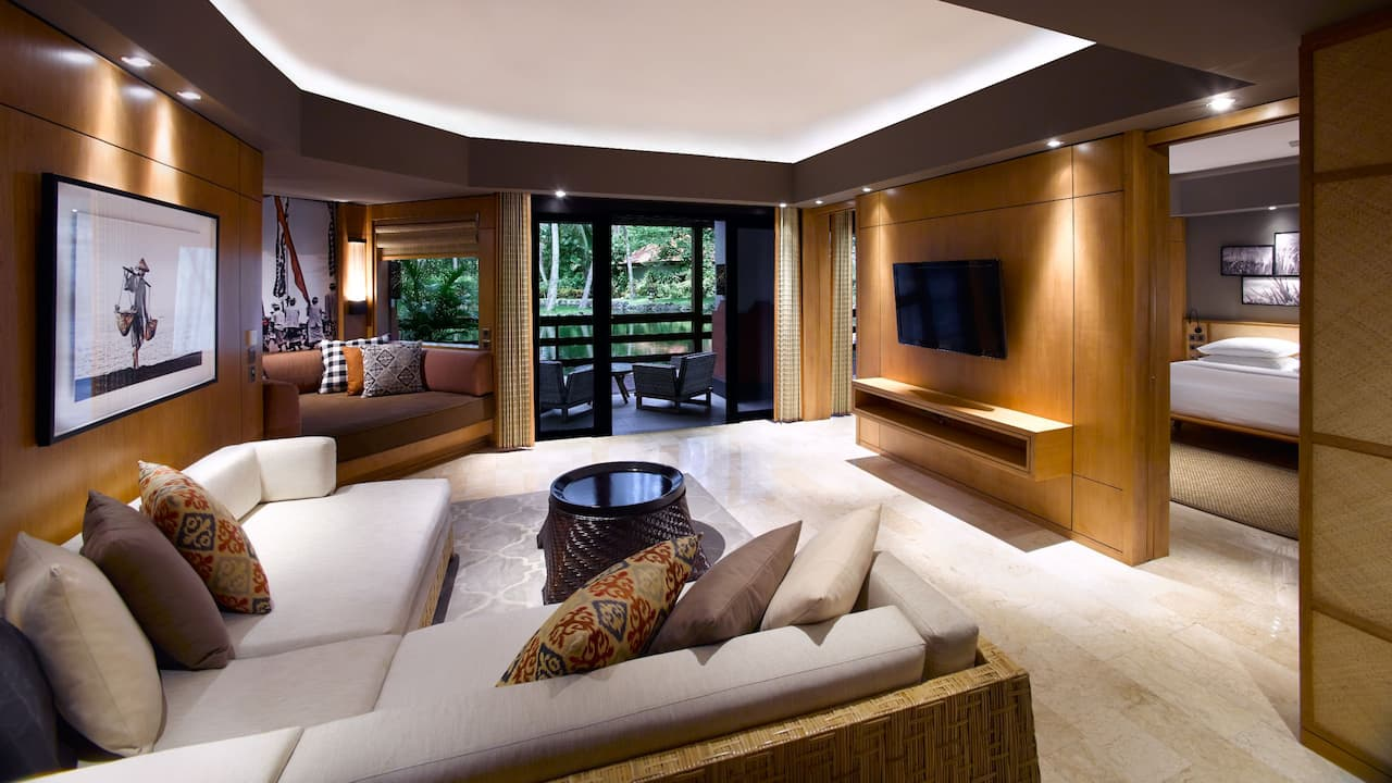 Grand Suite Living Room at Grand Hyatt Bali, Nusa Dua