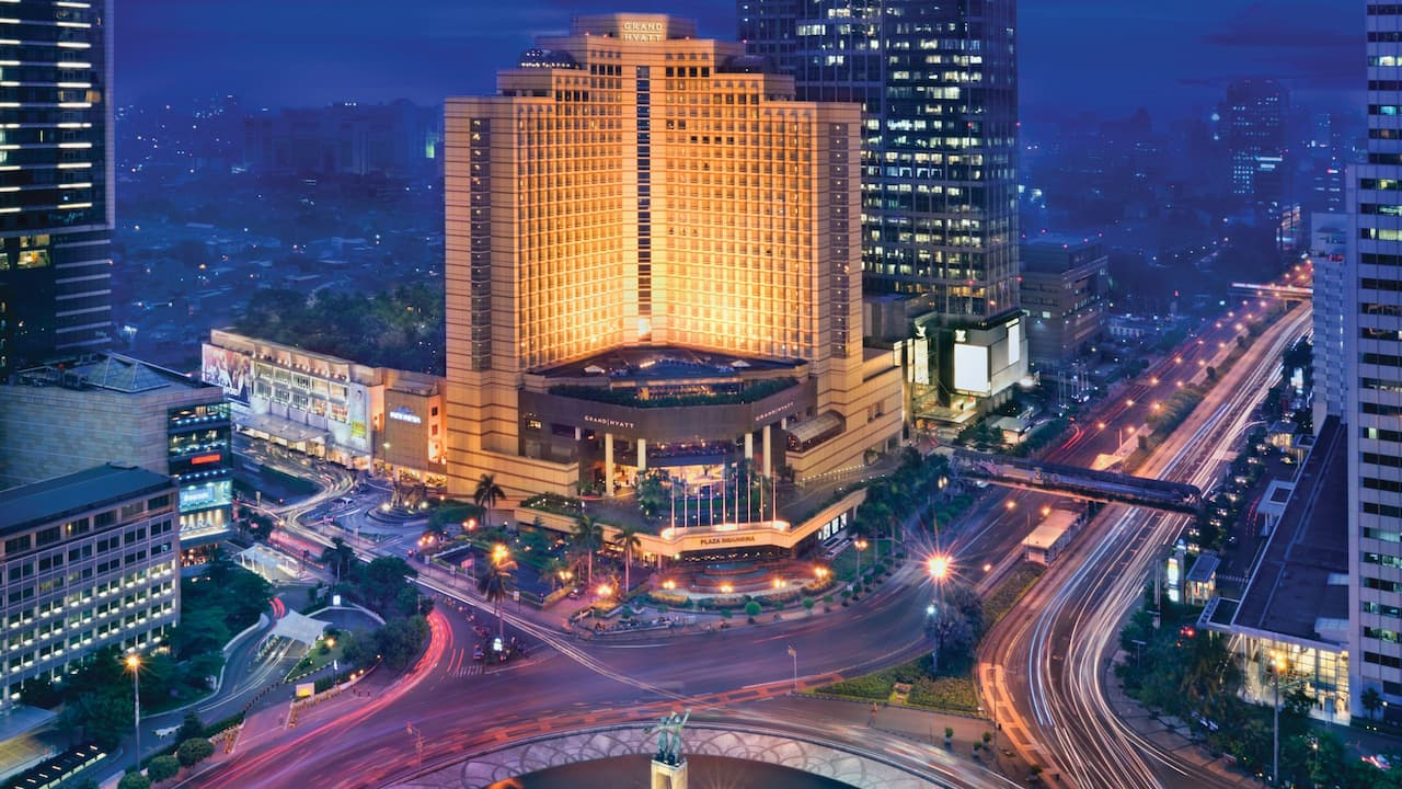 The Grand Hyatt Jakarta Hotel, Luxury 5 Star Hotel Located Right in the Heart of Jakarta