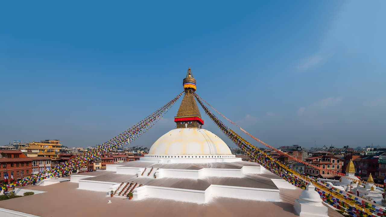 Destination Boudhanath