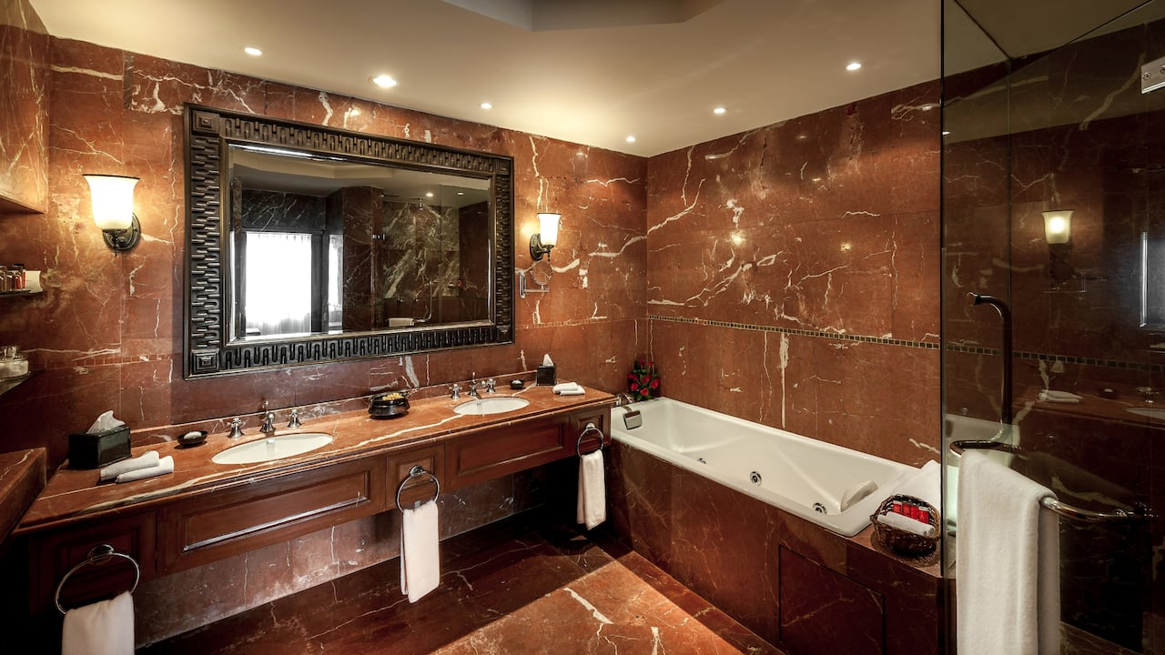 Executive Suite Bathroom Hyatt Regency Kathmandu