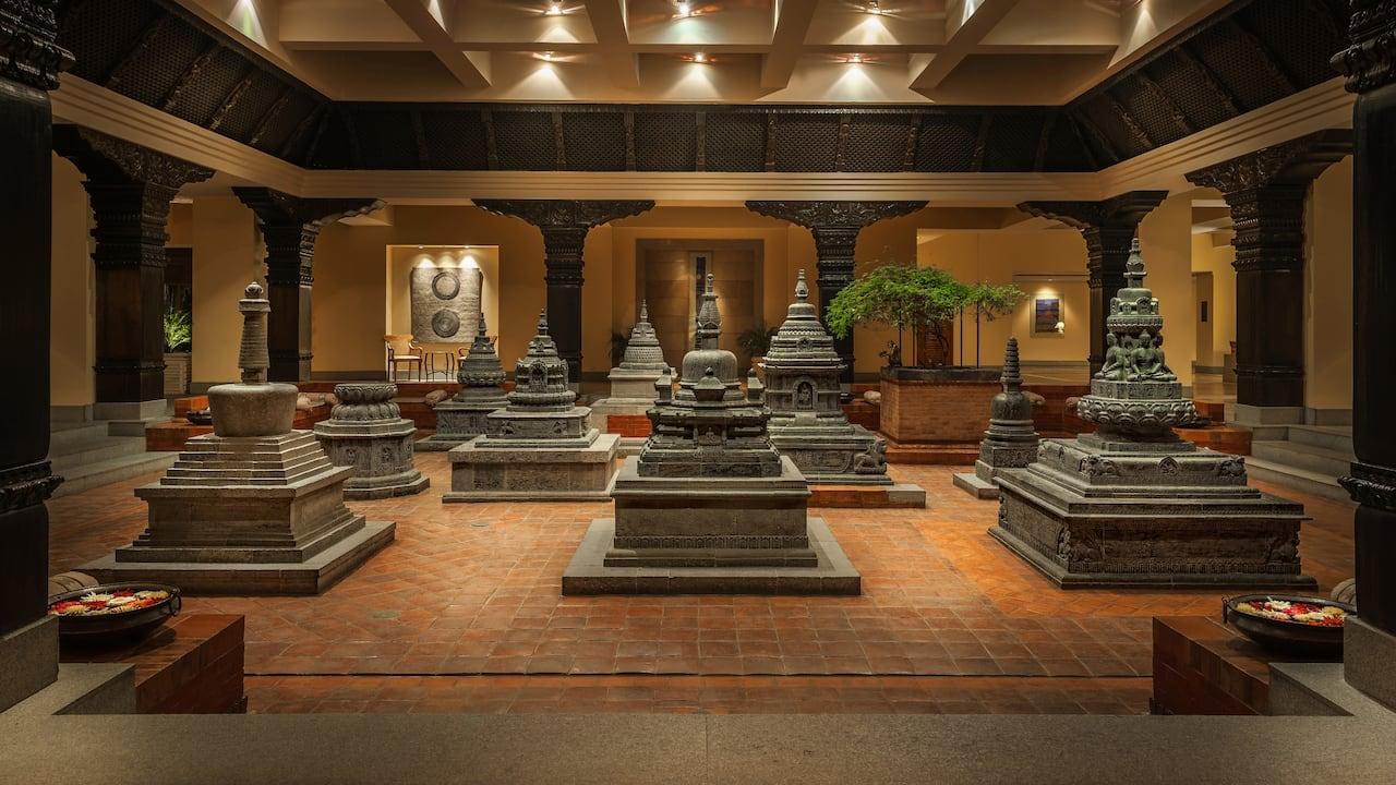 Temple Court Hyatt Regency Kathmandu