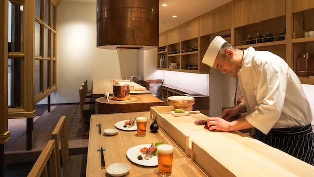 Andaz Tokyo Toranomon Hills, the sushi