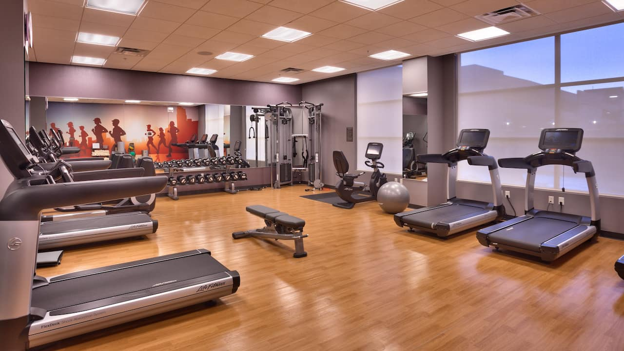 Hyatt House Salt Lake City / Downtown gym