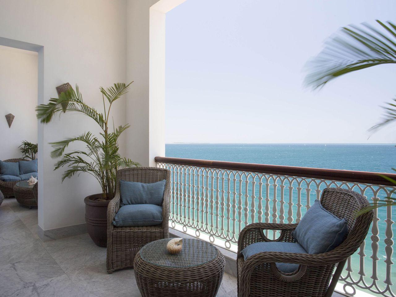 Zamani Prsdntial Suite Balcony