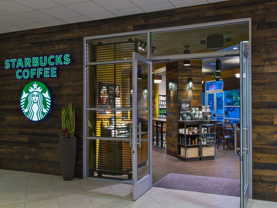 Starbucks Entrance