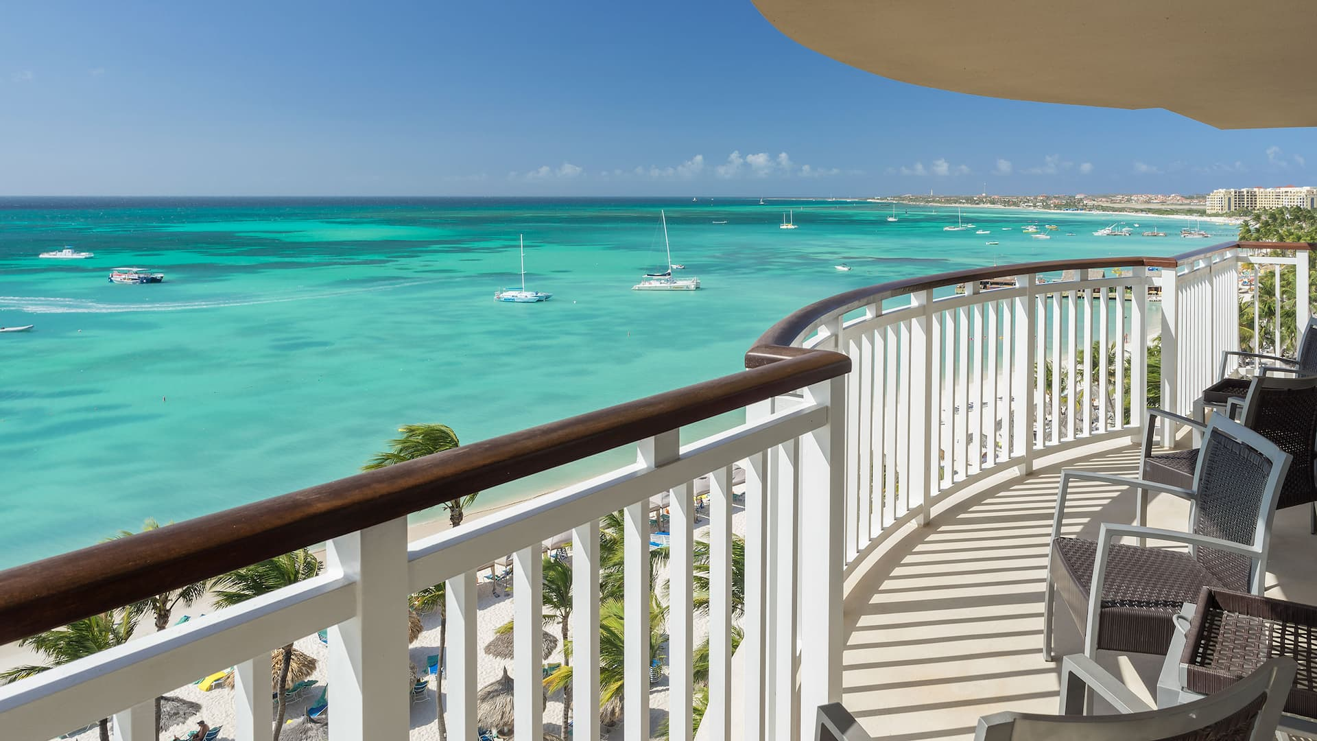 Governor's Suite with Ocean View Balcony at Hyatt Regency Aruba Resort Spa and Casino