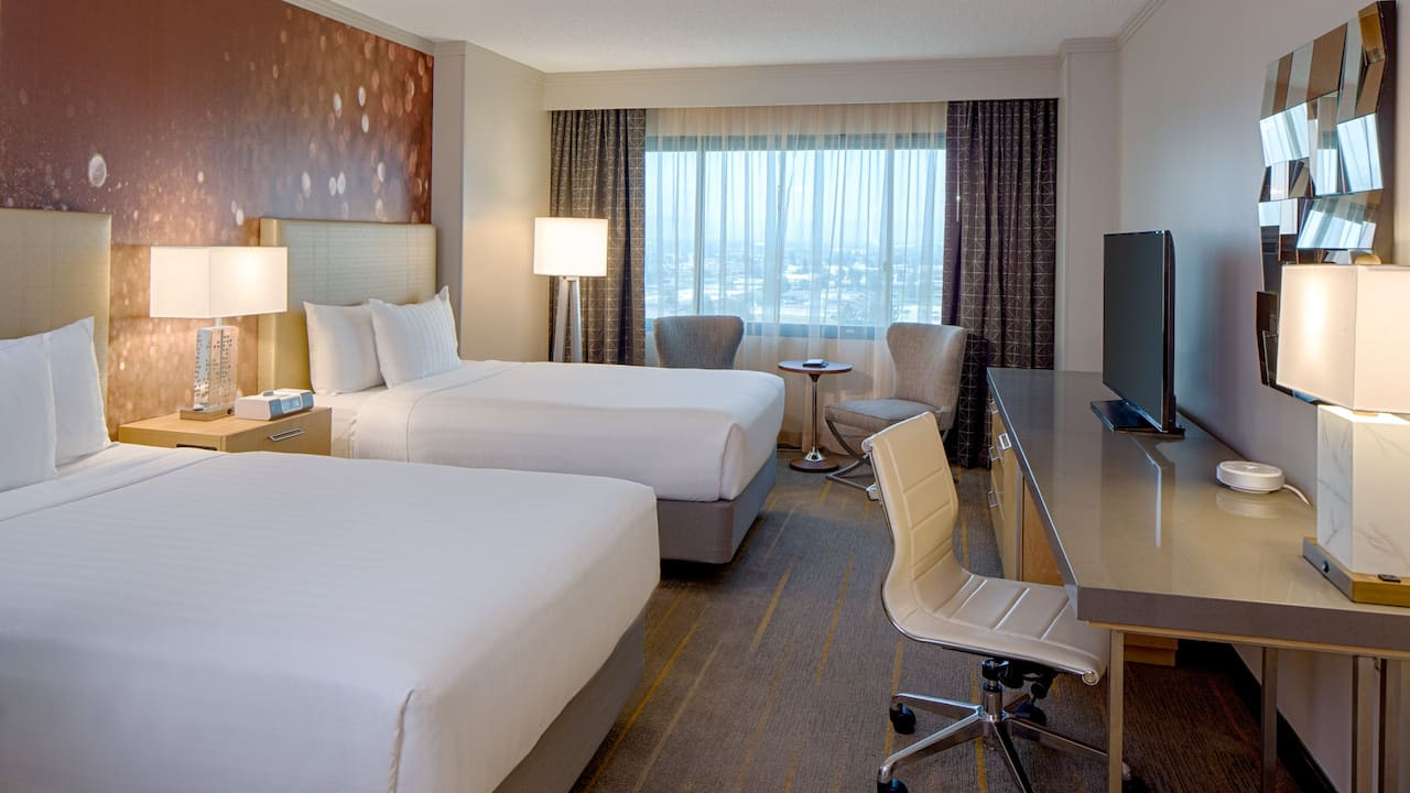 Club Access 2 Double Bed Room Hyatt Regency Santa Clara