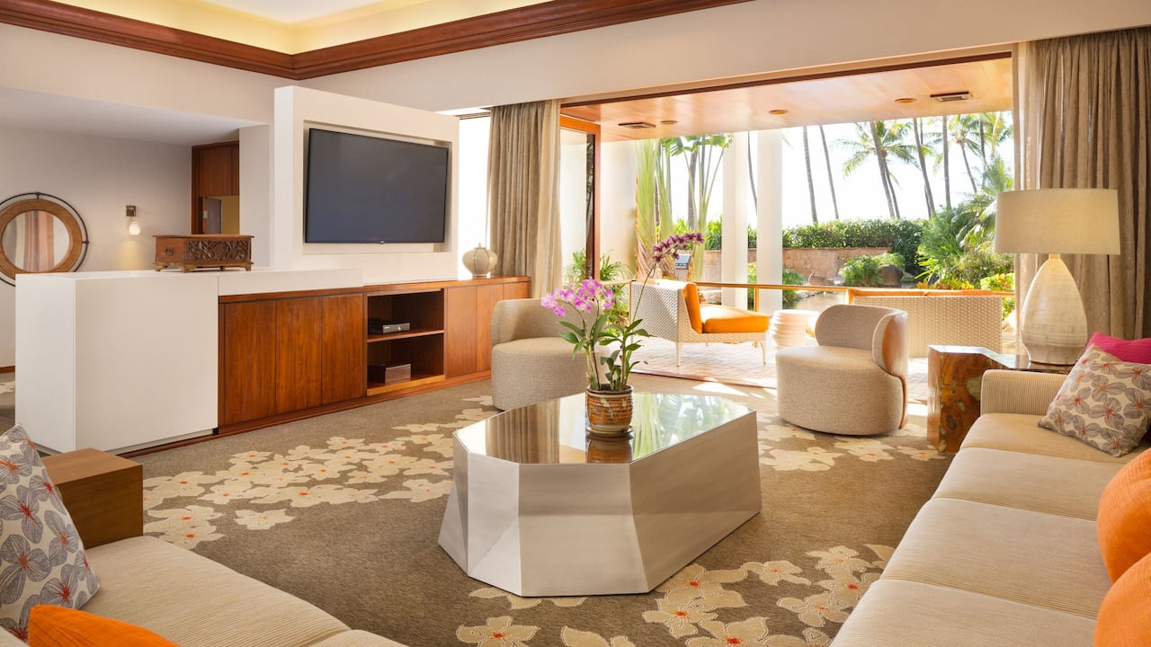 Palace Suite Living Room