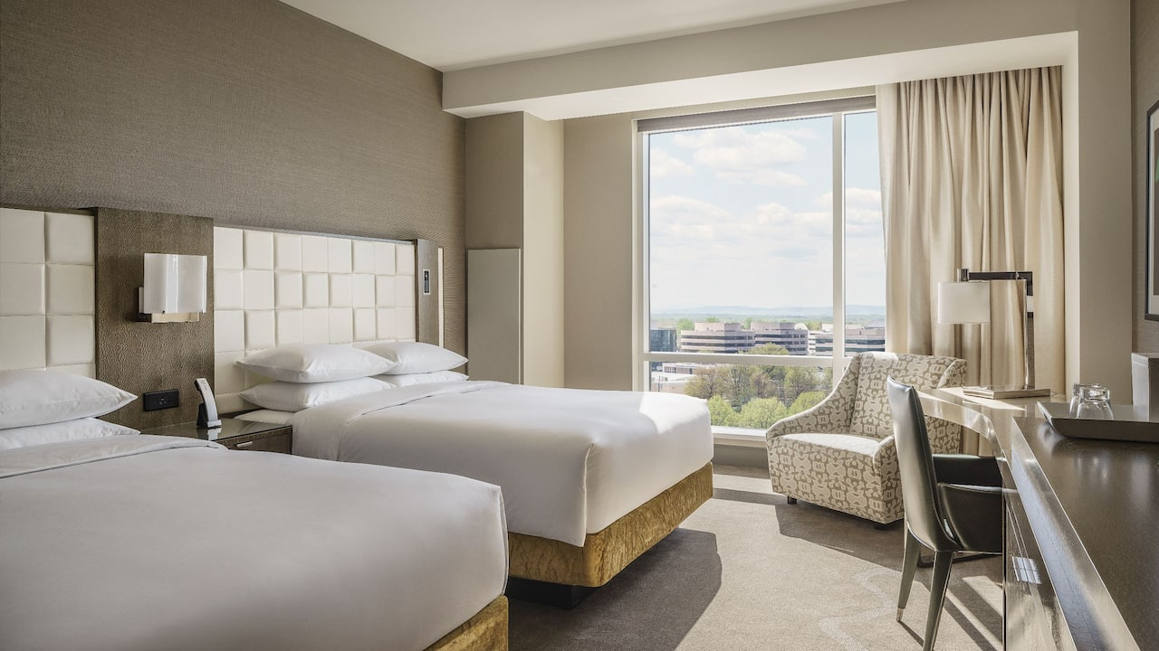 Room with Two Queen Beds and Plaza View Hyatt Regency Tysons Corner Center