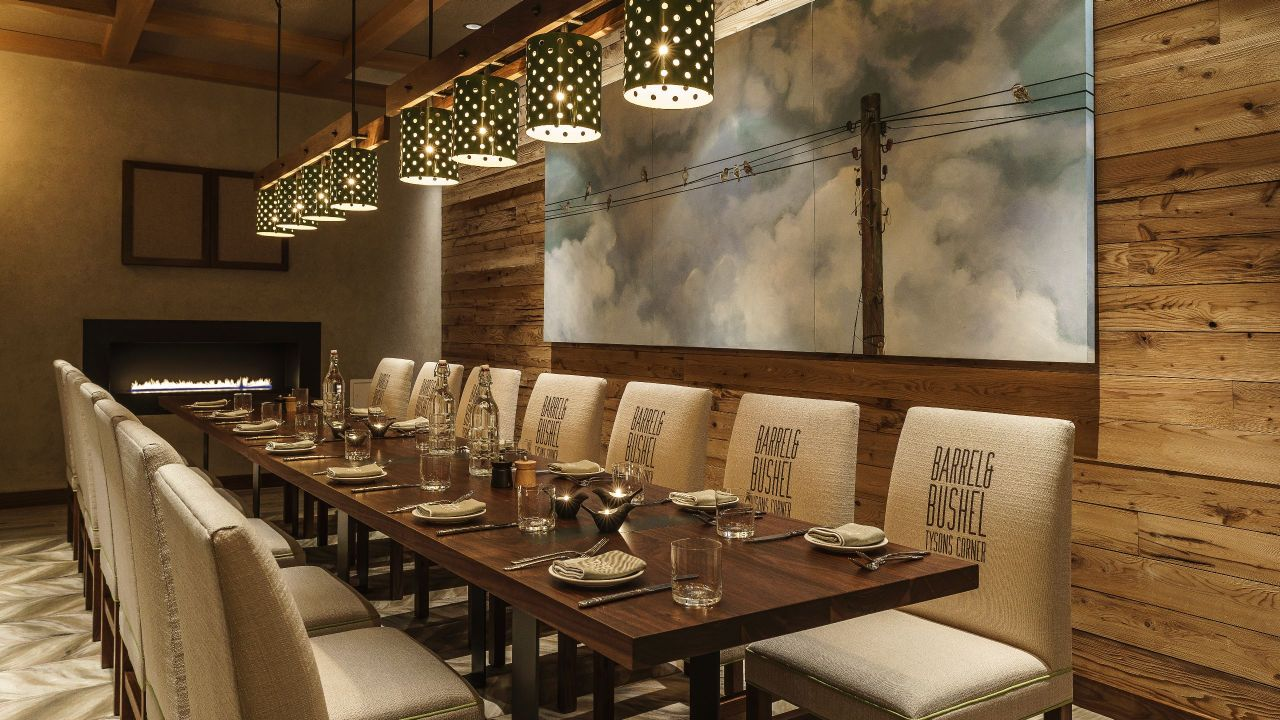 Center Sparrow Room Private Dining Hyatt Regency Tysons Corner Center