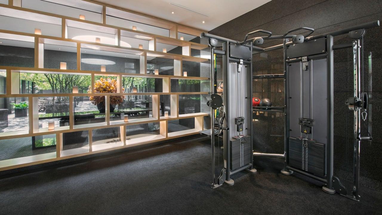 24-hour Fitness Centre