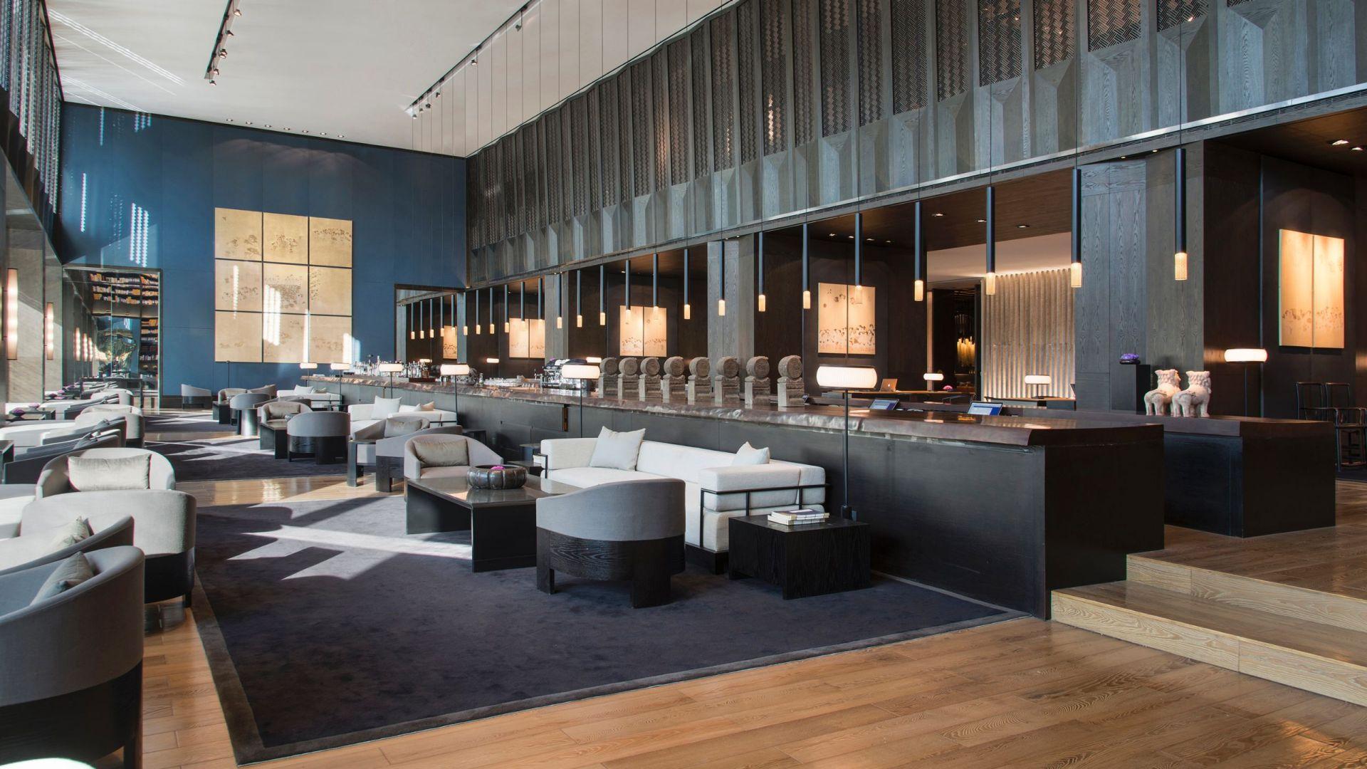Hotel Lobby and Lobby Lounge