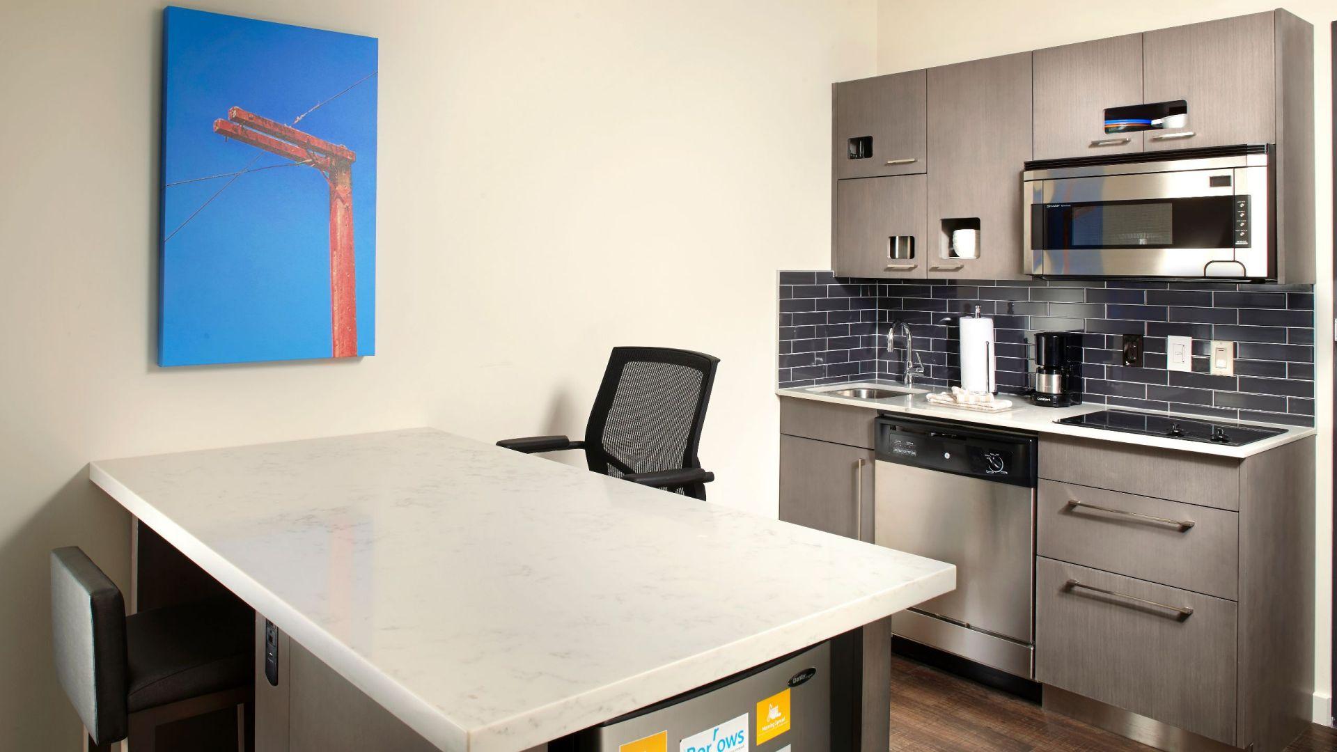 Hyatt House Studio Kitchen