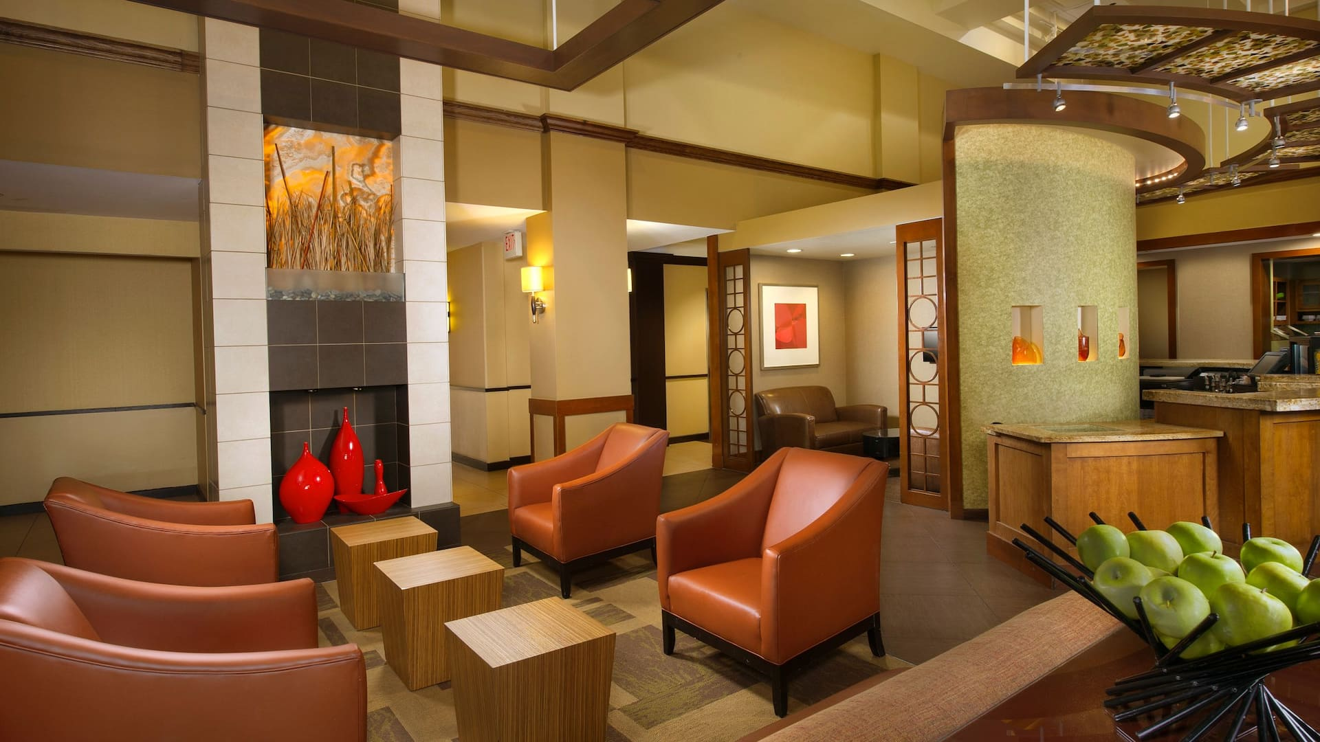 hyatt lobby seating area