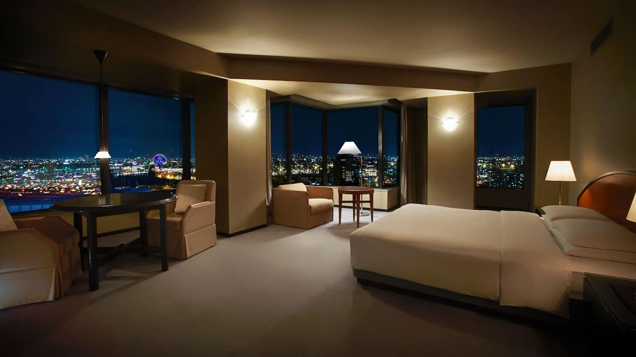 Hyatt Regency Osaka Twin Bed