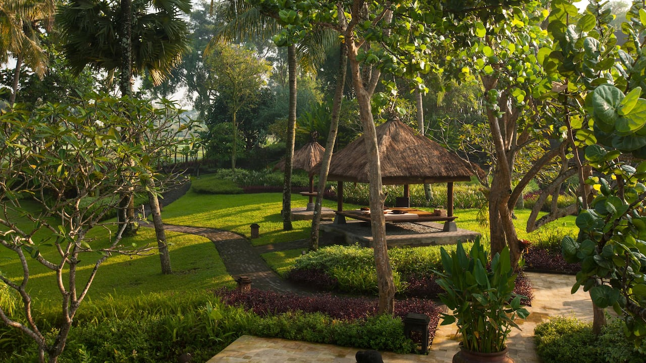 Hyatt Regency Yogyakarta Hotel with Beautifully Landscaped Gardens