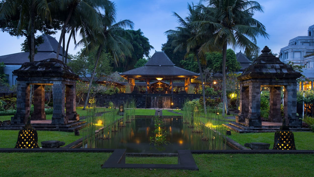 Luxury Hotel Hyatt Regency Yogyakarta with Beautifully Landscaped Gardens