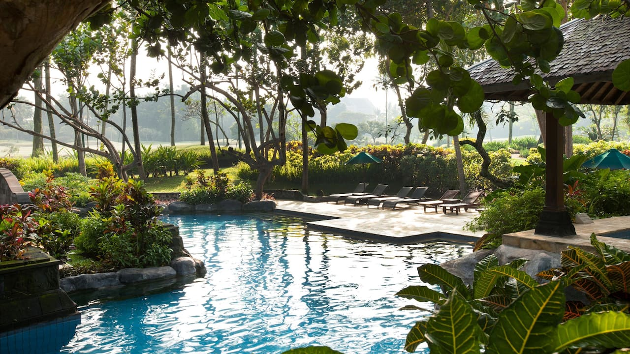Outdoor Swimming Pool Hyatt Regency Yogyakarta