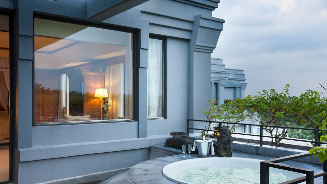 2 Bedrooms Presidential Suite with Patio at Hyatt Regency Yogyakarta