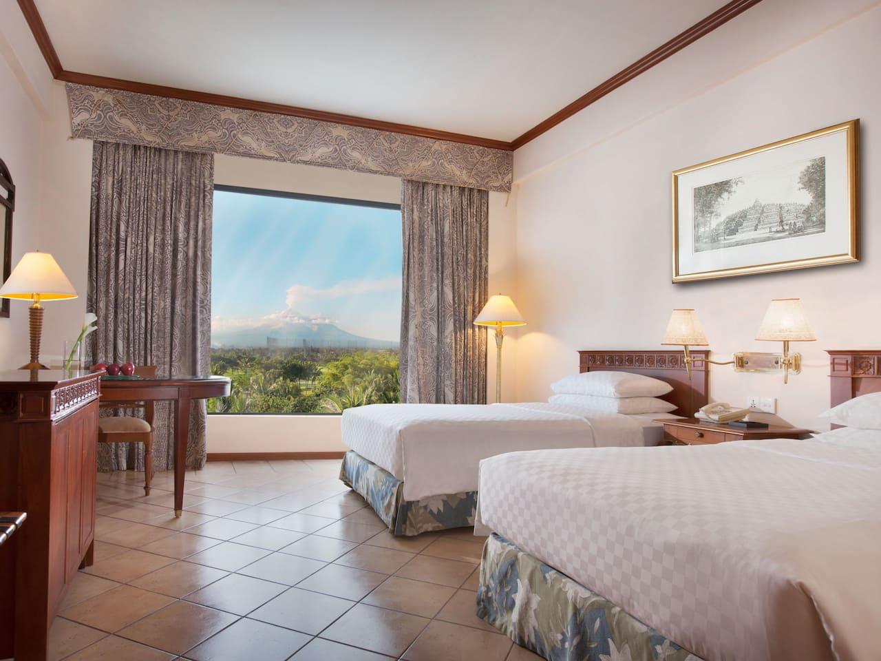 2 Twin Bed Deluxe Hyatt Regency Yogyakarta