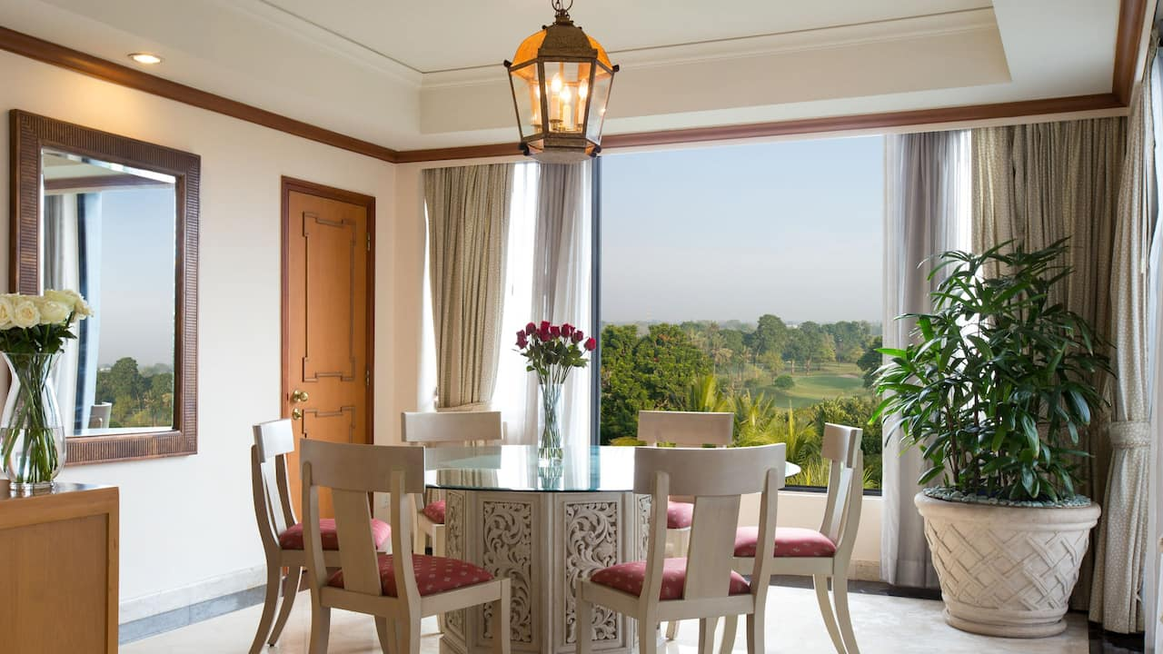 Dining Room Regency Executive Suite at Hyatt Regency Yogyakarta
