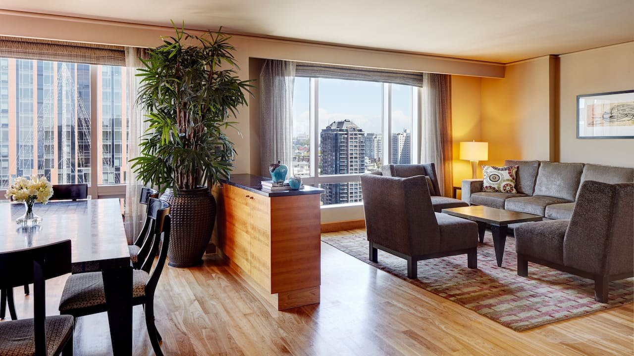 Grand Hyatt Seattle Carrara Suite