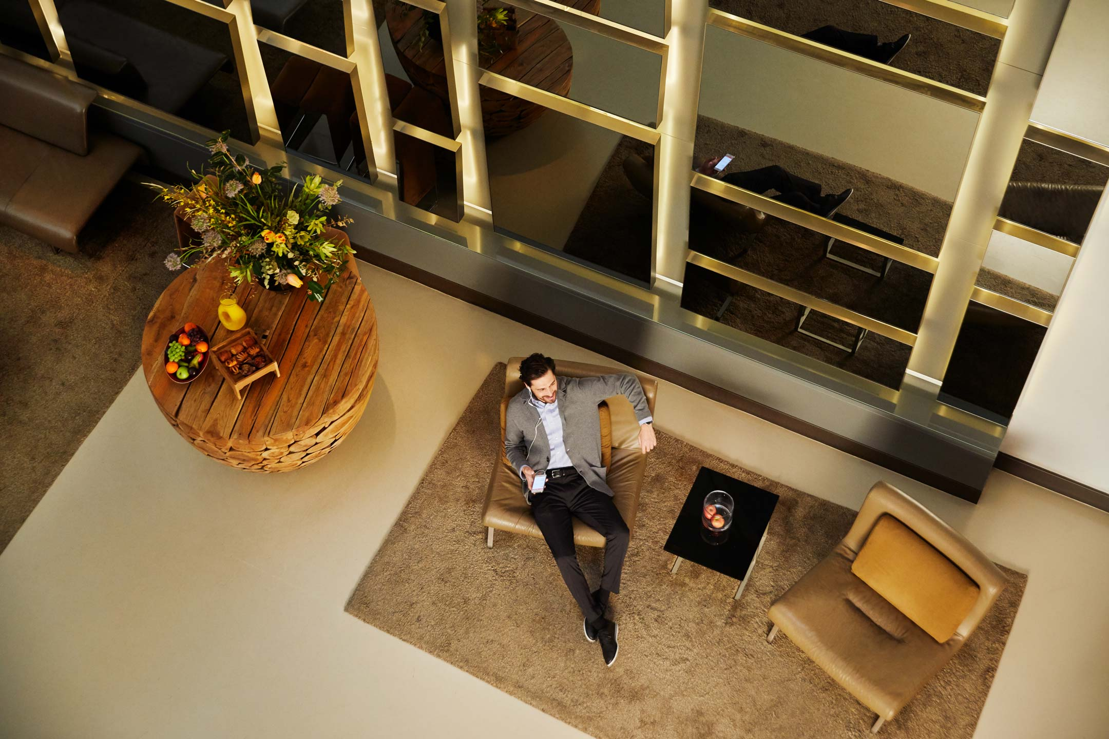 Park Deluxe Suite Living Room
