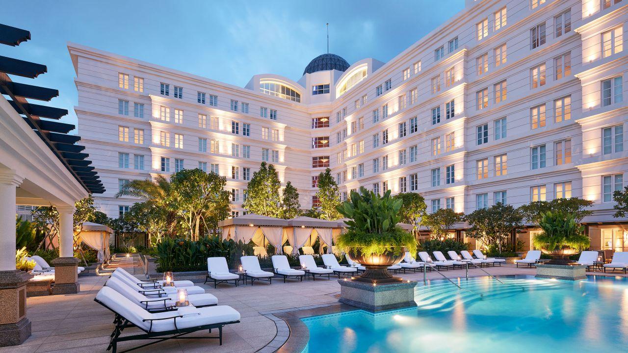 Pool, Park Hyatt Hotel Near Ben Thanh Market